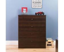 Prepac Astrid 4-Drawer Dresser  Espresso - EDBR-0401-1 NEW