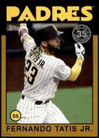 Fernando Tatis Jr. 2021 Topps 5x7 1986 Baseball 35th Anniversary Gold #86B-100 /