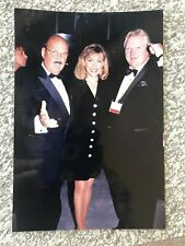 Bobby Heenan WWE Personal Collection Photo w/ Mean Gene Okerlund & Vanna White