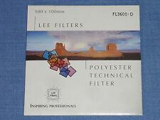 Lee Wratten Filter  100x100  FL 3600-D