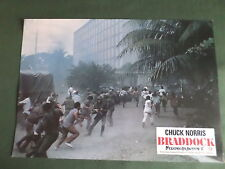 LOBBY CARD- 8.25 X 11.75 -  BRADDOCK MISSING IN ACTION III
