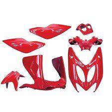 Kit Carénage Carosserie Habillage Coques Complet Nitro Aerox 50 Rouge Scuderia