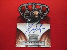 2010 Crown Royal Kyle Palmieri  rookie royalty autograph   Ducks  #ed 332 of 499