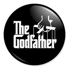"The Godfather 25mm 1"" Pin Badge Button Godparent Christening"
