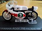 Ixo 1:24 Motorbike Yamaha RD 05 250 Phil Read 1968 - Rare