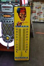 Thermomètre plaque émaillée BANANIA 75cm