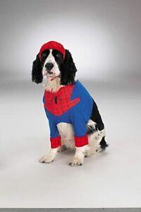 Spider-Man Spiderman Marvel Comic Pet Dog Costume - SMALL