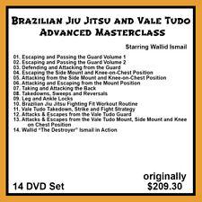 Wallid Ismail Brazilian Jiu Jitsu & Vale Tudo Advanced Masterclass (14 Dvd Set)
