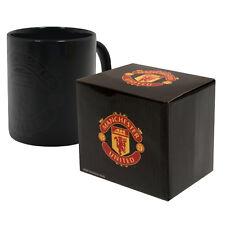 MANCHESTER UNITED FC NEW HEAT CHANGING CERAMIC TEA COFFEE MUG CUP XMAS GIFT