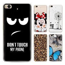 Cover For Various Phone Cute Cartoon Pattern Clear Slim Soft TPU Back Phone Case