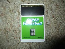Super Volleyball (TurboGrafx-16, 1990) Cart Only tg16