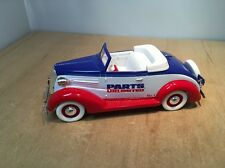 PARTS UNLIMITED 1937 CHEVY CABRIOLET - LIBERTY CLASSICS DIE CAST COIN BANK 1:25