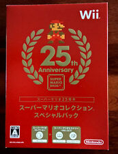 NINTENDO Wii 25th ANNIVERSARY Super Mario All-Stars - BRAND NEW!