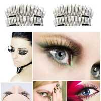 Natural Magnetic Eyelashes 3D Handmade Reusable False Eye Magnet Extension B5L3