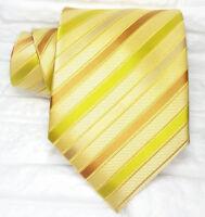Krawatte herren Gold TOP Qualität seide Made in Italy  hochzeit /  business € 38