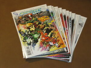 BRIGHTEST DAY #0 - 11 VF/NM COMPLETE RUN GREEN LANTERN AQUAMAN DEADMAN DC COMICS