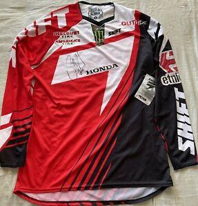 Chad Reed autographed signed Honda Shift Racing motocross supercross jersey JSA