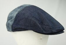 Levi's Two-tone Indigo denim cabbie Newsboy Hat Men's ML Pre-owned good cond.