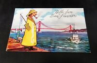 San Francisco CA California Little Fisherman Restaurant Sailor Fish Grotto Wharf