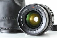 [MINT] Contax Carl Zeiss Distagon T* 28mm F/2.8 MMJ MF Lens C/Y Mount From JAPAN