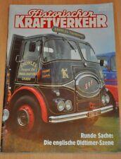 Historischer Kraftverkehr HIK 3/93 englische Oldtimer-Szene, LKW, Lieferwagen