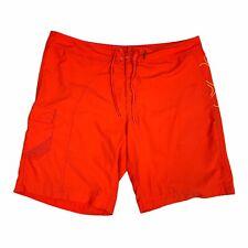 Columbia Board Shorts Mens 40 Orange Omni Shield Swim Trunks Outdoor Adult