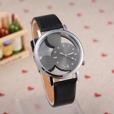 Reloj De Pulsera Mickey Unisex Negro Correa Ajustable * vendedor del Reino Unido *