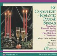 By Candlelight Piano & Strings - Audio CD By David Sellers - VERY GOOD
