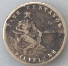 Philippines 5 centavos 1945 S KM#180a qppeqo