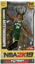 Giannis Antetokounmpo Milwaukee Bucks McFarlane Toys NBA 2k19 Action Figure