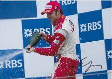 Luca Filippi Hand Signed 12x8 Photo - Formula 1 Autograph F1 1.