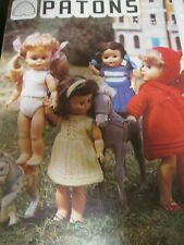 Patons Dolls Clothes, Knitted doll clothes, Patons toys pattern, Doll Knits,
