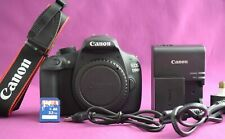 Canon EOS 1200D Digital SLR Camera Silver body only - Shutter Count 1156 (1807A)