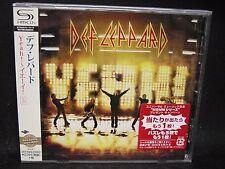 DEF LEPPARD Yeah ! + 2 JAPAN SHM CD Girl Whitesnake Down 'N' Outz Dio Riverdogs
