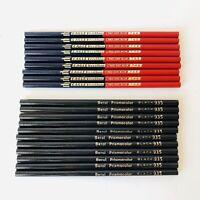 VTG Eagle Verithin Red & Blue 748 Dual 9ct, Berol Prisma Color Black Pencils 11