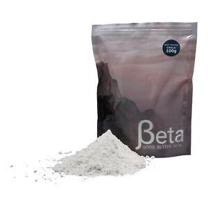 Beta Rock Climbing Chalk  (Heat Treated) - 100g Re-sealable Bag