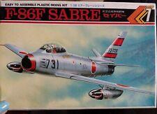 Rare! Japan Kawai 1/100  F-86F Saber Air Self-Defense Force fighter KJP07-100