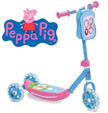 Patinete de 3 Ruedas Peppa Pig Patín Infantil Monopatín Scooter