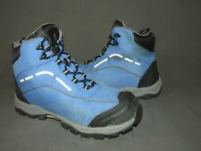 L.L. Bean Blue Nylon Textile Hiking Trail Boot Women's 8.5M