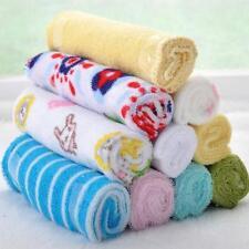 8Pcs Baby Infant Newborn Bath Towel Washcloth Bathing Feeding Wipe Cloth Soft J