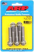 712-0750 SAE Bolt Kit Polished 5//16 in.-24 RH Thread ARP