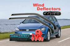 VW GOLF MK7 2012 - 2015 HTB 5D Wind deflectors 2.pc  HEKO 31193 for FRONT DOORS
