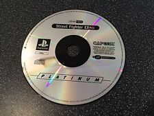 STREET FIGHTER EX PLUS ALPHA-GIOCO PS1 PSONE PLAYSTATION-SOLO DISCO
