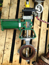 Fisher 6 Inch Butterfly Class 150-300 1066Sr Actuated Valve