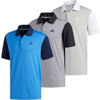 ADIDAS ULTIMATE 365 CAMO EMBOSSED UPF 50+ GOLF POLO SHIRT @ 40% OFF RRP