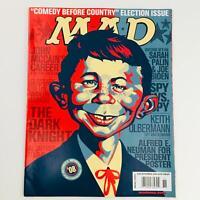 Mad Magazine November 2008 No. 495 Neuman For President 2008 Very Fine VF 8.0