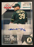 2019 Topps National Baseball Card Day Blake Treinen Auto 008/450