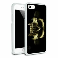 Shadow Skull Monster Horns Fantasy Slim Hybrid Case Fit iPhone 8, 8 Plus, X