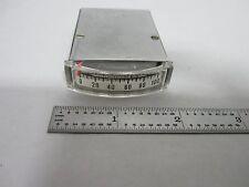 Vintage Simpson Dc Milliamperes Elettrico Display Ampere Cestino #L1-15