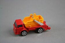V581 Corgi Juniors 70mm 3396/69 298/217 Ford D 1000 benne basculante Skip bader